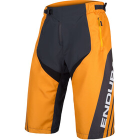 Endura MT500 Burner Cycling Shorts Men grey/orange